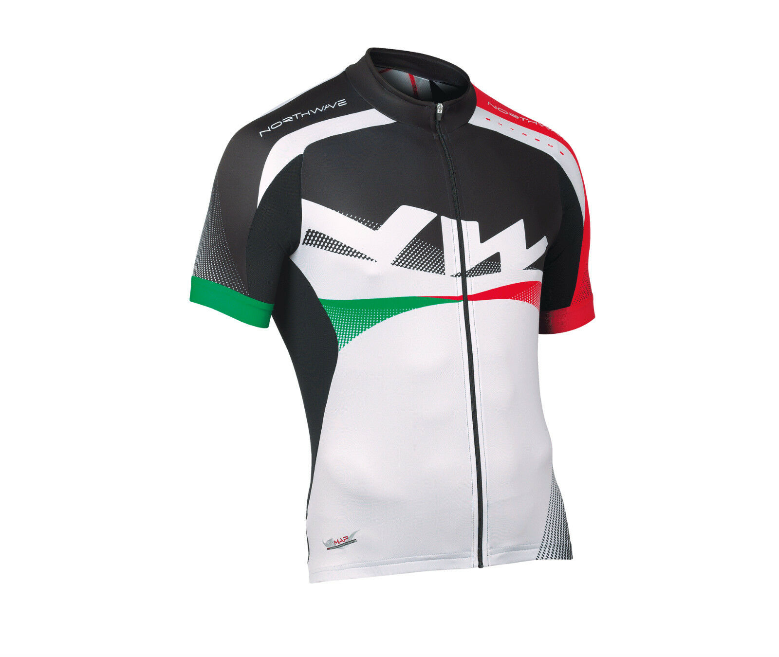 Maglia Maglietta M corta NORTHWAVE  EXTREME White Red Green JERSEY NORTHWAVE EXTR  wholesale cheap and high quality