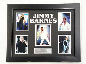 JIMMY-BARNES-PROFESSIONALLY-FRAMED-SIGNED-PHOTO-COLLAGE-WITH-PLAQUE