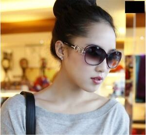 6657cf661 Image is loading Big-Round-Women-Sunglasses-Ladies-Retro-Vintage-Shades-