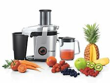 New Bosch MES4000GB Centrifugal Whole Fruit Vegetables Juicer Stainless Steel Uk