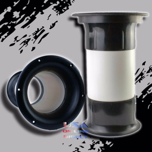 """High Quality Molded 4/"""" x 6/"""" Aeroport for 10/"""" to 18/"""" Subwoofer Bass Enclosure US"""