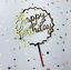 Birthday-Gold-Silver-Topper-Cake-Card-Acrylic-Party-Supply-Home-Love-Decoration