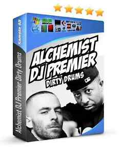 Alchemist DJ Premier Dirty Drums MPC60 SP1200 Linn Vinyl FL Studio Reason Rap