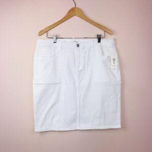 Style-Co-14-Denim-White-Skirt-NEW-Mid-Rise-49