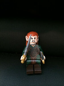 LEGO Lord of the Rings Hobbit 79001 Tauriel W// 2 Gold Daggers Minifigure NEW