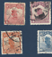 miniature 6 - LOT OF 23 CHINA JUNK STAMPS ALL DIFFERENT MANCHURIA OVERPRINT, STAR SURCHARGE