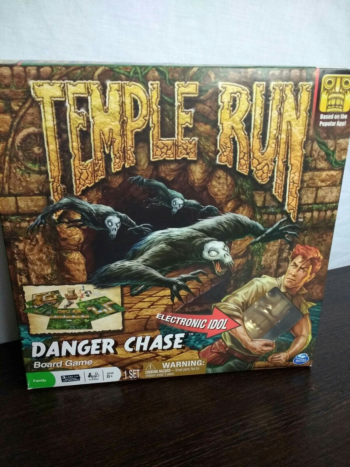 Brand New Temple Run Danger Chase Spin Master Board Game