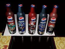 5 Pepsi NFL Players 2008 16 OZ Aluminum Bottles-Full, Unopened