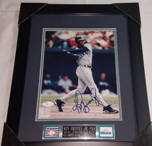 24030de86a Image is loading Ken-Griffey-Jr-Signed-Seattle-Mariners-Framed-Autograph-