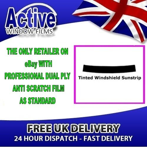 VAUXHALL-OPEL FRONTERA 92-98 70/% SUN STRIP PRE CUT CAR WINDOW TINT KIT FILM
