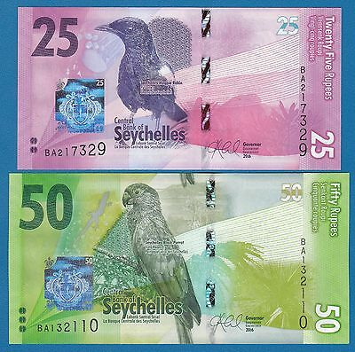 Seychelles 50 Rupees P 39A ND Combine FREE! UNC Low Shipping 2004
