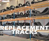 Ihi 30g Mini Excavator Replacement Tracks Set Of 2 300x52.5wx80