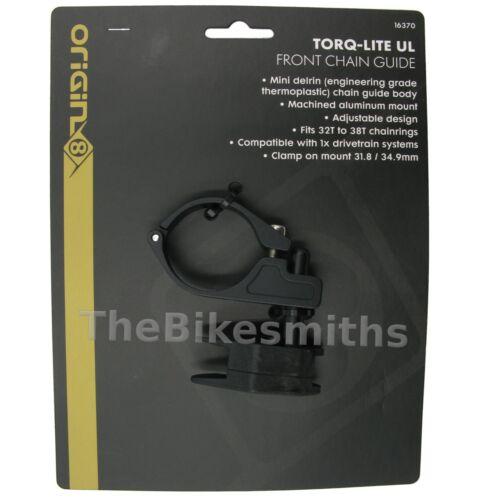 Origin 8 Torqlite Chain Guide UL Mini Single Speed Clamp Mount 31.8//34.9 1x Bike