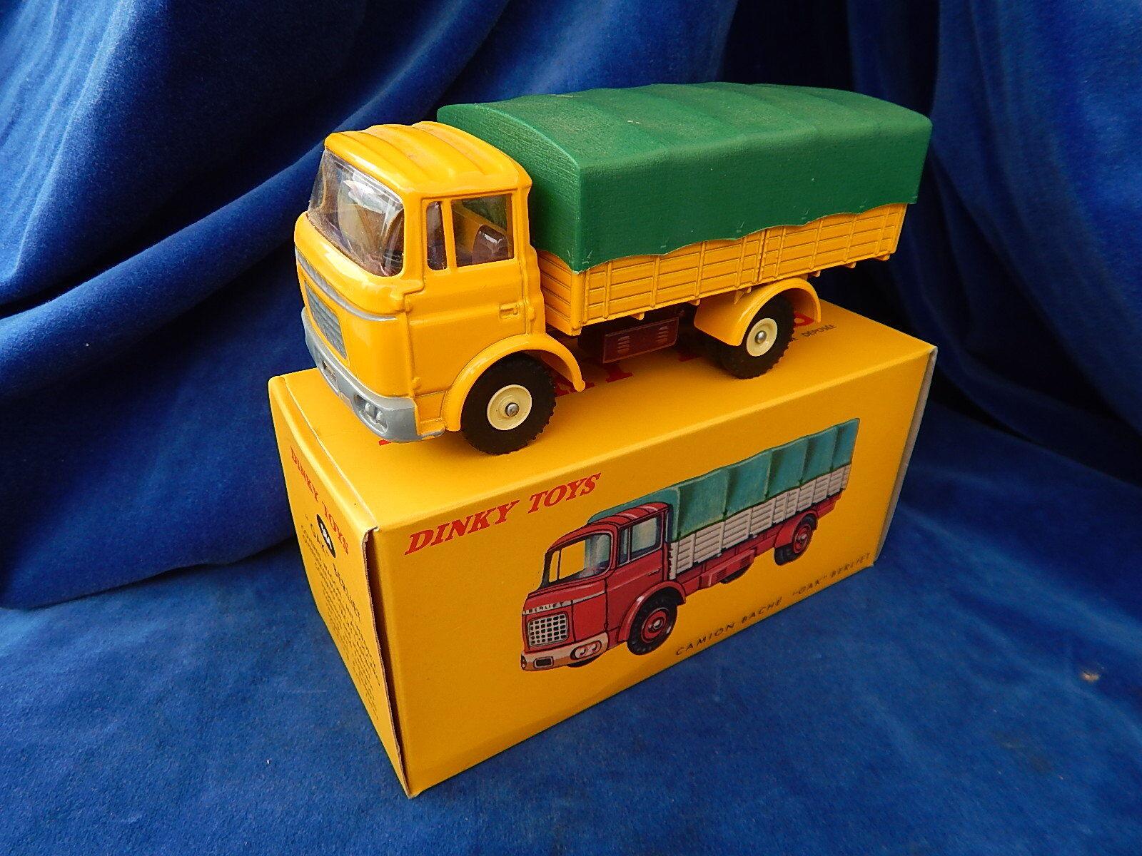 ATLAS - DINKY TOYS - CAMION   Truck - GAK BERLIET 584 - TOP