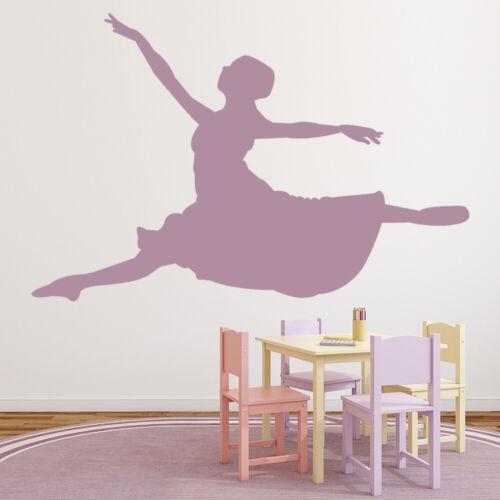 Ballerina Leap Ballet Dance Wall Sticker WS-15764