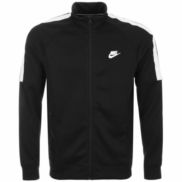 43e4c765e9e Nike Limitless Track Top Mens XL Black Poly Tracksuit Jacket Full ...