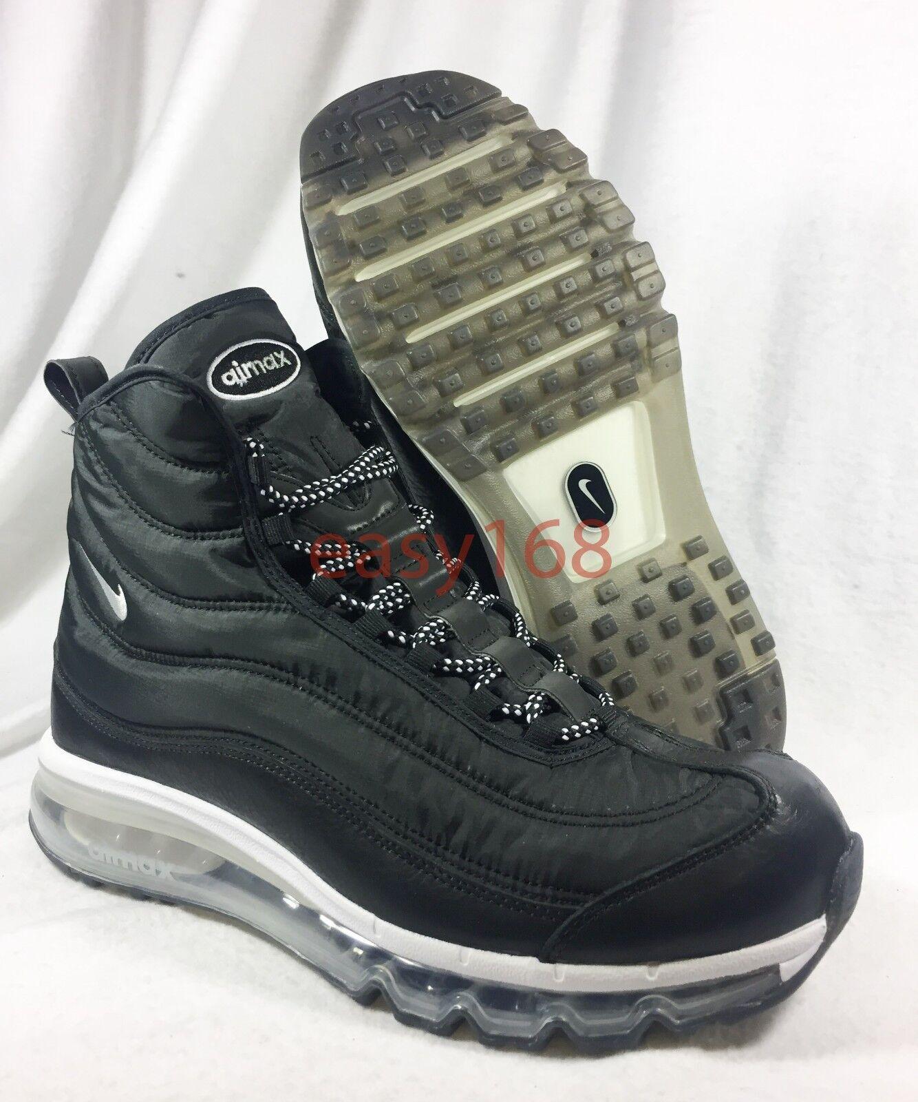 Novedades Nike Air Max Skylynx Sz 9 para hombre 42.5 Botas Negro Invierno 844909-001 ACG 360