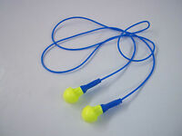 50 Pairs Earplugs 3M Push-Ins Corded Earplug Hearing Conservation In Poly Bag Health Aids