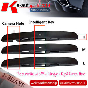 Fit-Nissan-Dualis-J10-Tailgate-Door-Handle-Garnish-Cover-Moulding-With-Cam-Hole