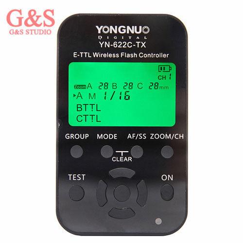 Audacieux Yongnuo Yn-622c-tx E-ttl Wireless Flash Controller For Yn622c Flash Trigger Remise En Ligne