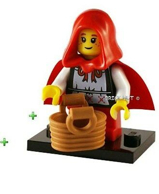 LEGO SERIES 7 - GRANDMA VISITOR FIGURE + BASKET + FREE GIFT - BESTPRICE - NEW