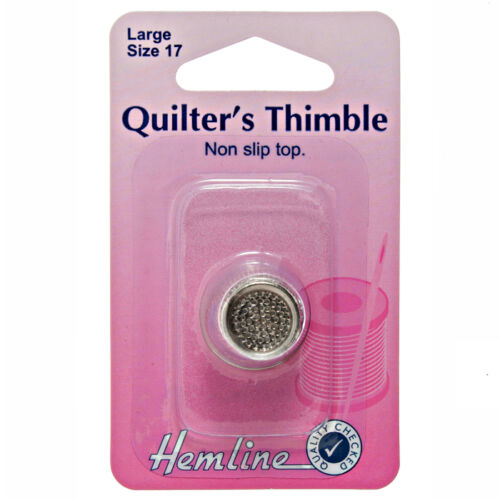 THIMBLE THIMBLES SEWING QUILTERS NEEDLEWORK CRAFT RUBBER METAL LEATHER PLASTIC