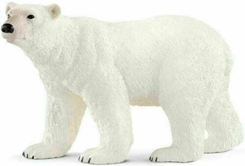 Schleich Orso Polare per Bambini Ragazzi Animale Wild Life piccolo Figur Gioco Regalo Nuovo