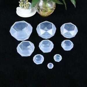 10pcs Diamond Pendant Mold Resin Mold Making WidgetsOrnament Handmade Mold. Special Mold Silica Gel Mold Diy Clay Mold Crafts mold