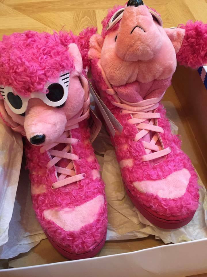 Adidas Jeremy Scott JS Poodle, Authentic NEW in BOX