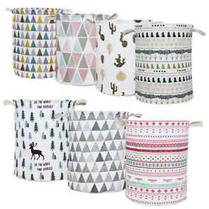 Folding-Dirty-Clothes-Basket-Waterproof-Toys-Collection-Bucket-Laundry-Hamper