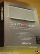 MONSTER CLARITY HD MICRO PORTABLE WIRELESS SPEAKER & SPEAKERPHONE - NEW & SEALED