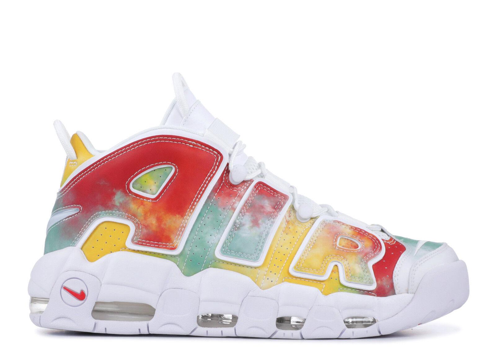 2018 2018 2018 Nike Air More Uptempo Retro QS UK Multicolor Size 14. AV3809-700 Jordan e05a94