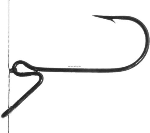 2 pks NEW Standout Finesse Drop Shot Bass Hook Size 1//0 ST4ZS-1//0