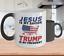 Jesus-Is-My-Savior-Trump-Is-My-President-Coffee-Mugs-Funny-Donald-Trump-11oz-Cup thumbnail 1