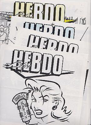 L'HEBDO Bikini. lot des n°99 à 102. Manara, Walter Minus, Loro
