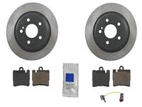 Mercedes W220 S500 00-02 W/o Amg High Quality Rear Brake Kit Rotors Pads Sensor on sale