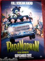 Cinema Poster: PARANORMAN 2011 (Main One Sheet) Anna Kendrick Casey Affleck