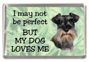 """West Highland Terrier Dog Fridge Magnet /""""I may not be perfect ../"""" by Starprint"""