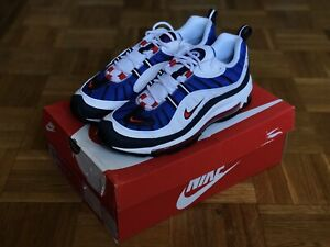 Details about Nike Air Max 98 Gundam Whiteuniversity red obsidian Size 8.5 640744 100