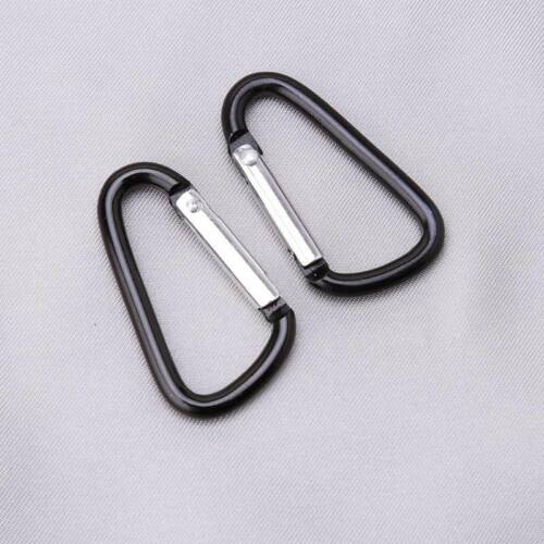 Carabiner Hook Webbing Buckle Molle Tactical Hanging Belt Outdoor Key Ring FA