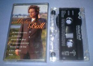 MICHAEL-BALL-THE-BEST-OF-cassette-tape-album-T5935