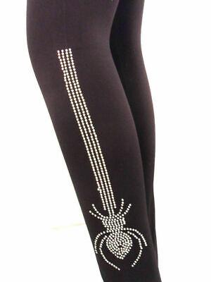 New Women/'s Femme Strass Animal Tigre Imprimé Léopard Leggings Taille 8-14