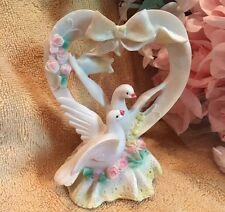 SWAN ANNIVERSARY WEDDING QUINCEANEA FLOWER BRIDAL CAKE TOPPER  - NEW ITEM --