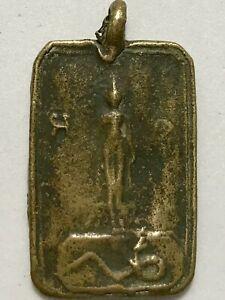 PHRA JUK LP RARE OLD THAI BUDDHA AMULET PENDANT MAGIC ANCIENT IDOL