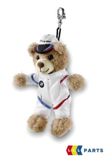 NEW GENUINE BMW M MOTORSPORT TEDDY BEAR KEY RING FOB 80272461142