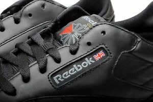 reebok classic leather cl 116 black fashion casual mens