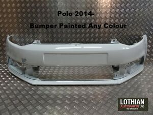 VW-POLO-2014-NEW-FRONT-BUMPER-PAINTED-ANY-COLOUR