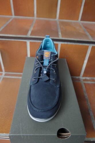 Nubukleder blau Timberland A 1784// A 178C Sneaker f Jungen Zippverschluß,NEU