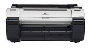 Canon Ipf670 Inkjet Printer Plotter 24 Inch New With 1