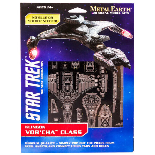 Metal Earth Star Trek Klingon VOR/'CHA